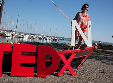 TEDx Narbonne - Equipe Sandrine May